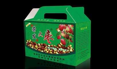 荣发大枣2013彩装包装箱效果图