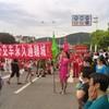 【魏城新闻】绵阳市市政公交通魏城,百姓自发隆重欢迎