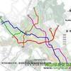 绵阳城市轨道(地铁/轻轨)交通线路图出炉(图)