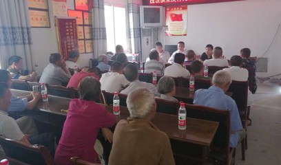 魏城镇荣发村党支部升级党总支并成立第一、第二党支部