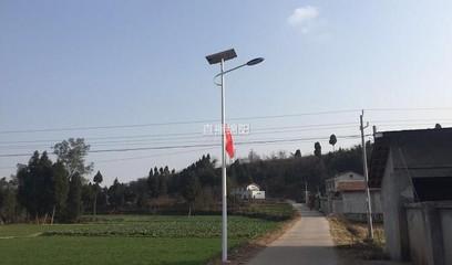 游仙荣发村村民自筹建40盏路灯 照亮幸福路