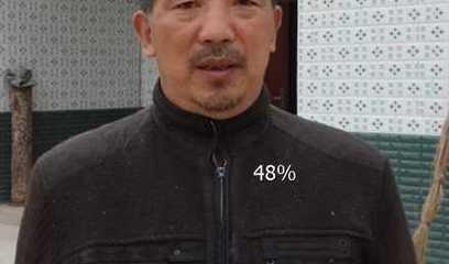 荣发村第一党支部委员兼七社社长-伏忠贵